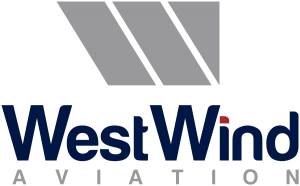 West Wind Aviation logo that links to their website's home page.